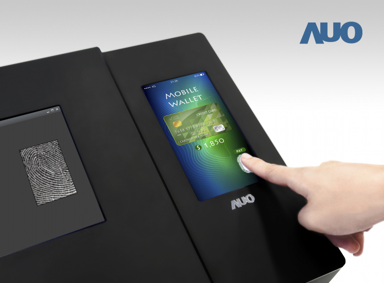 AUO unveils world's first 6-inch full screen optical in-cell fingerprint LTPS LCD